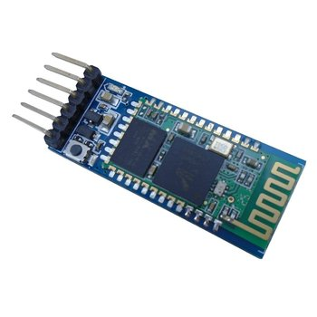 SHANHAI HC-05 Bluetooth Serial Pass-through Module Wireless Serial Communication with Button for Arduino