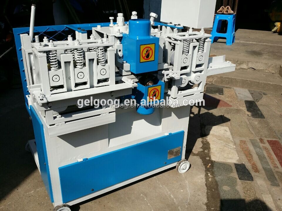 Wood Broom Stick Making Machine | Wood Mop Handle Making Machine