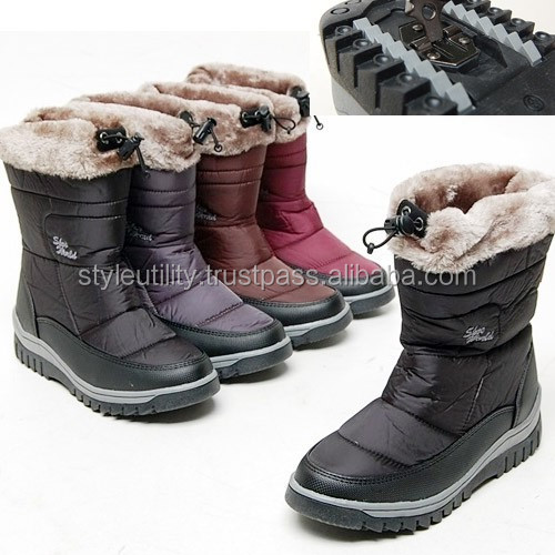 2sbd0885 None slip winter fur snow boots Made in korea Available 1 pair order