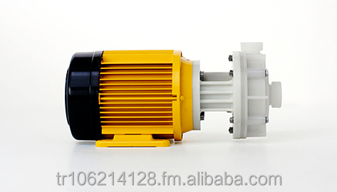 Chemical Resistant Pumps for Corrosive and Highly Pure Media. Magnetically Coupeled, Submersible Centrifugal Pumps