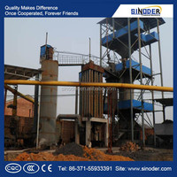Provided energy saving Coal gasifier/ Coal gasification plant to make coal gas
