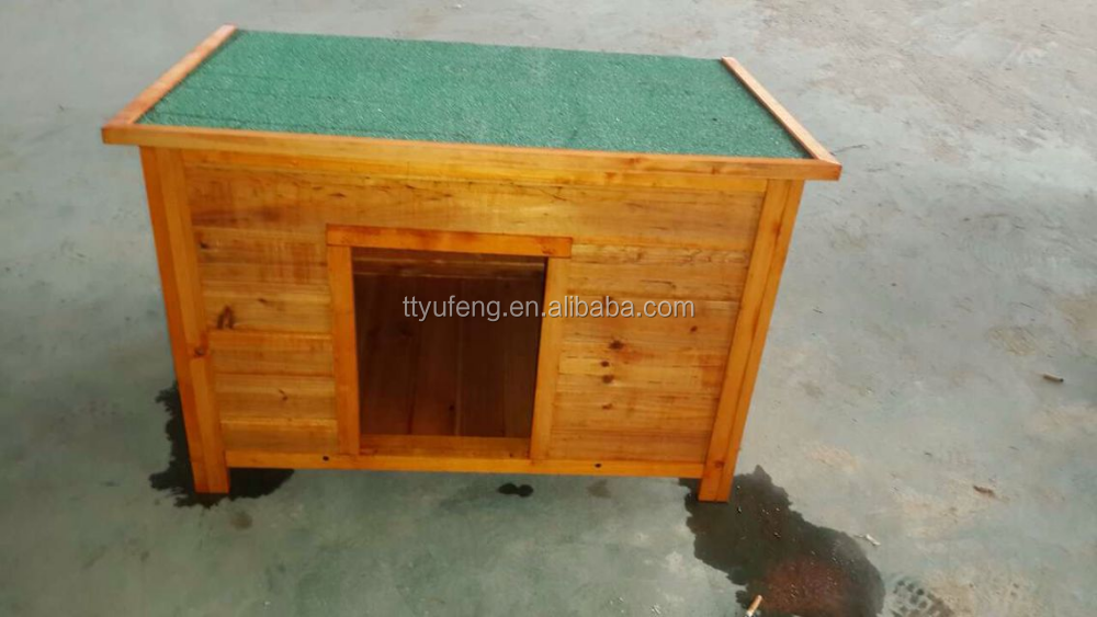 Hot sale manufacture wooden dog house pet cage