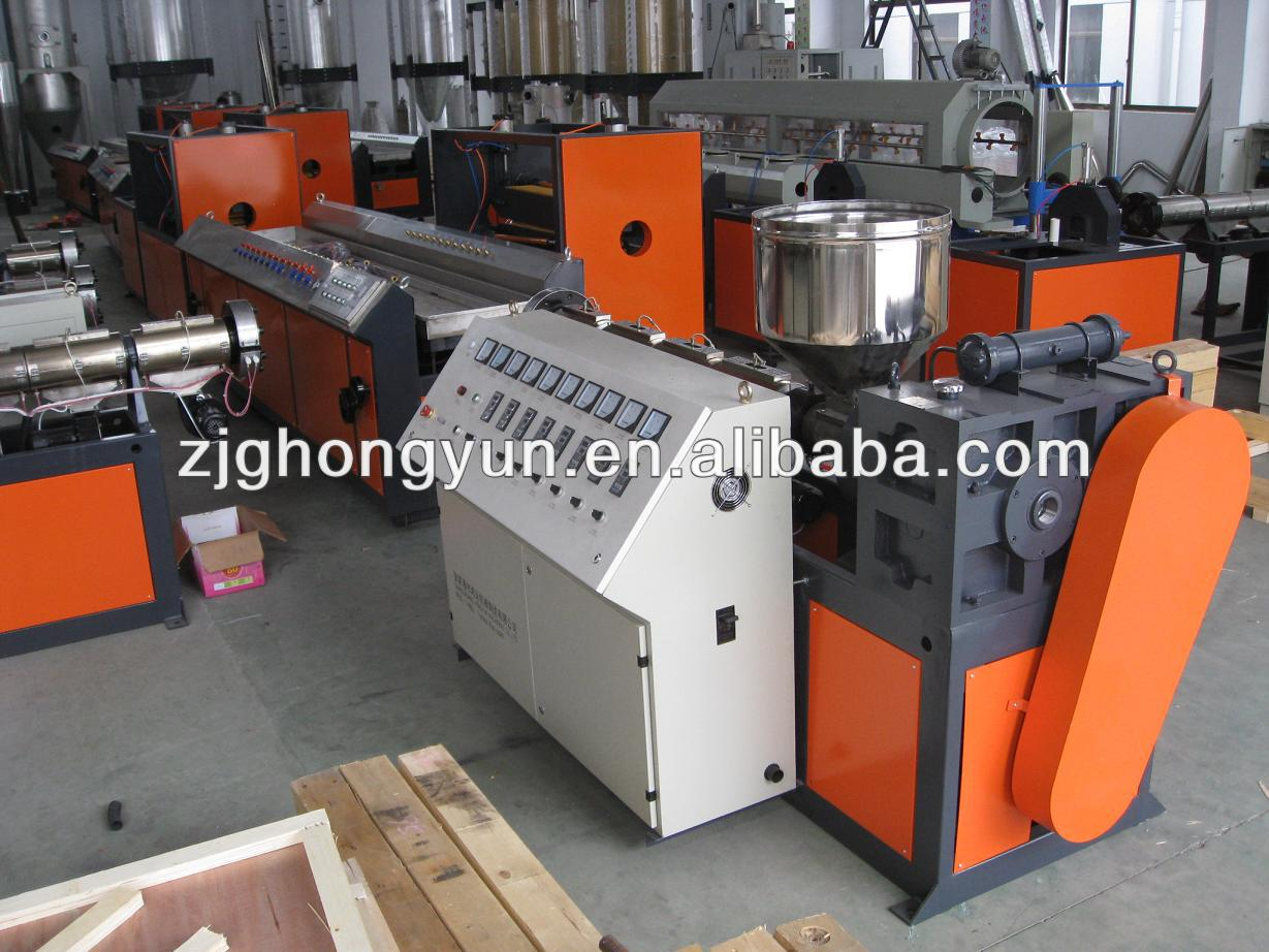PVC plastic profile production line