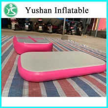 Gym equipments factory suppliers tumble track inflatable air mat for gymnastics