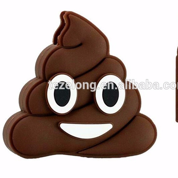 2017 new arrival hot emoji poop shaped usb flash dish 2db 4gb 16gb flash drive usb
