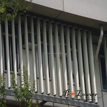 motorized vertically aluminum sun louvers