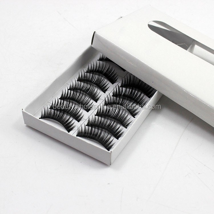 Fashion Black Fiber False Eyelashes