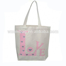 Unique Design fashion cheap recyclable shopping cotton bag