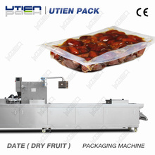 Plastic dry fruit packing machine for dates