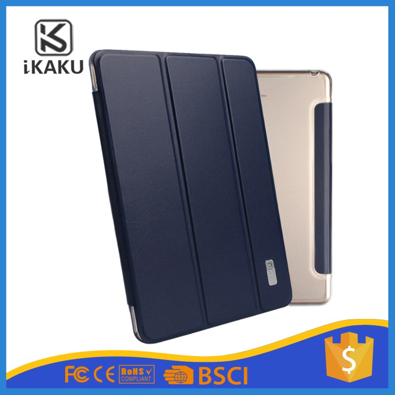 Ultra-thin 3 Fold Stand Flip Smart Cover Protector Pu Leather Tablets Case For Ipad Mini 123