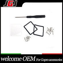 JGJ OEM for GoPro Hero 4/3+ Black Waterproof Case Replacement Lens Ring with Screws and Screwdriver