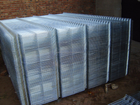 rot proof hot dipped galvanized welded wire fence panels