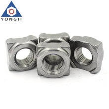Customized Carbon Steel Zinc Square Weld Nuts