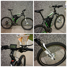 battery powered bicycle kit/mid motor ebike kit with battery