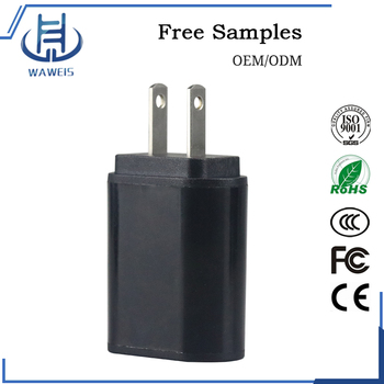 Fast One Port Usb 5v 2a Wall Charger For Mobile Phone