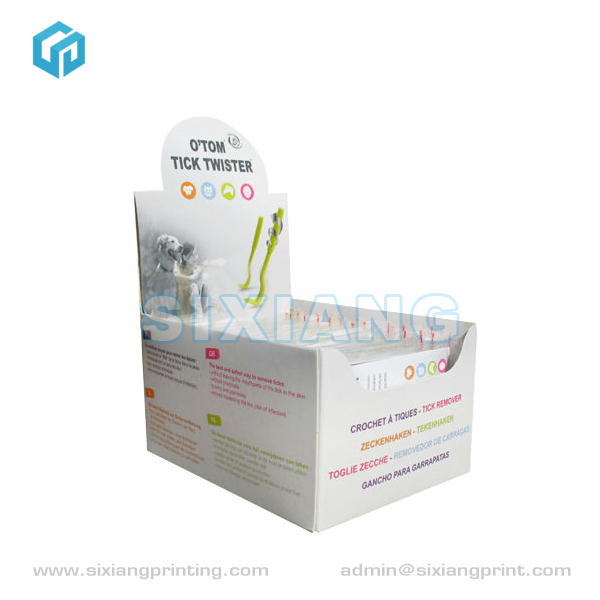 Eye-Catching Counter Cardboard Display for Tick Twister