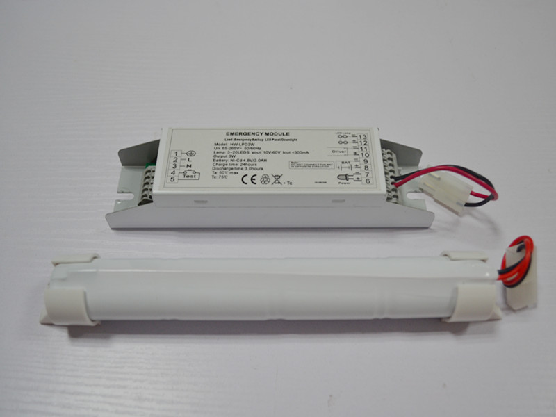 3 Hours Duration LED Emergency Lighting Battery Pack