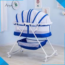 New Folding Portable Famous Brand 4 in 1 convertible babies r us cribs youth beds baby beds Newborn Diaper Stuff Organizer