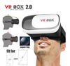 2016 Best selling VR BOX 2.0 Virtual Reality Headset 3D VR Glasses for Video Movie Game fit for 4~6 inch Smartphones