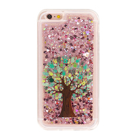 Olja high quality diamond liquid stars phone case for iphone 6 6s 6plus