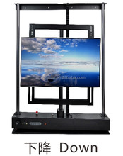 Whirligig lift up tv for conference table/cabinet