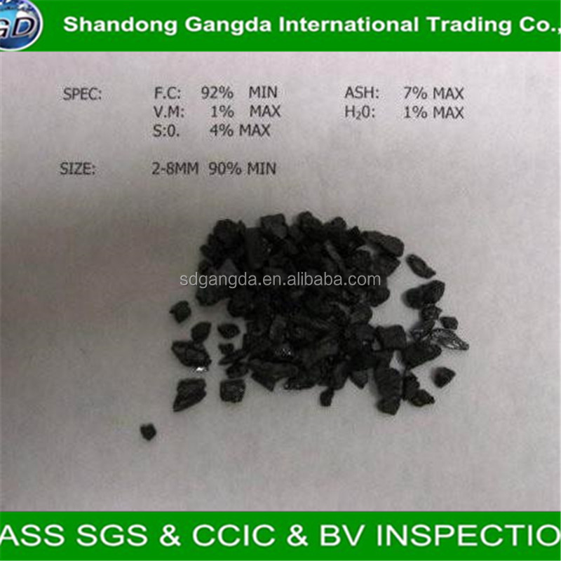 GD-GCA-01 gas calcined anthracite <strong>coal</strong> used in aluminium size 1-10mm