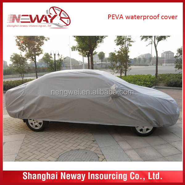 peva+pp cotton solar car cover with competitive price