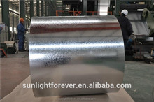 China steel factory hot dipped z40g galvanized steel coil for roofing sheet