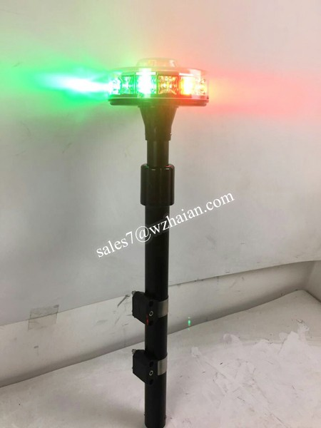 Police Motorcycle led Light/Car Lighting Accessories/Aluminum Pole Tail light TBH-638E