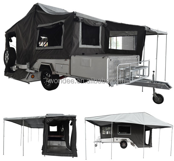High Quality Offroad Rear Folding Camper Trailer