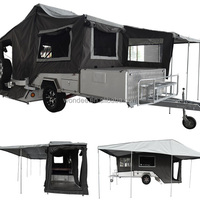 High Quality Offroad Rear Folding Camper