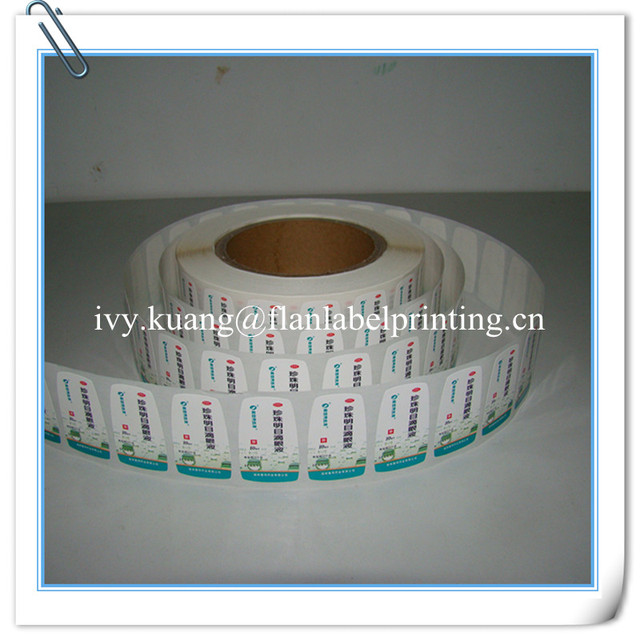 Customized Roll Paper Fragile Label/sticker