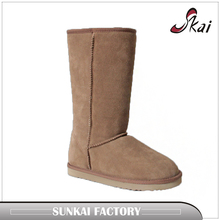 Pretty women fancy winter snow boots fur white brown womens warm snow boots