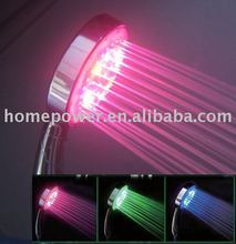water temperature sensor led shower head,led shower,shower light