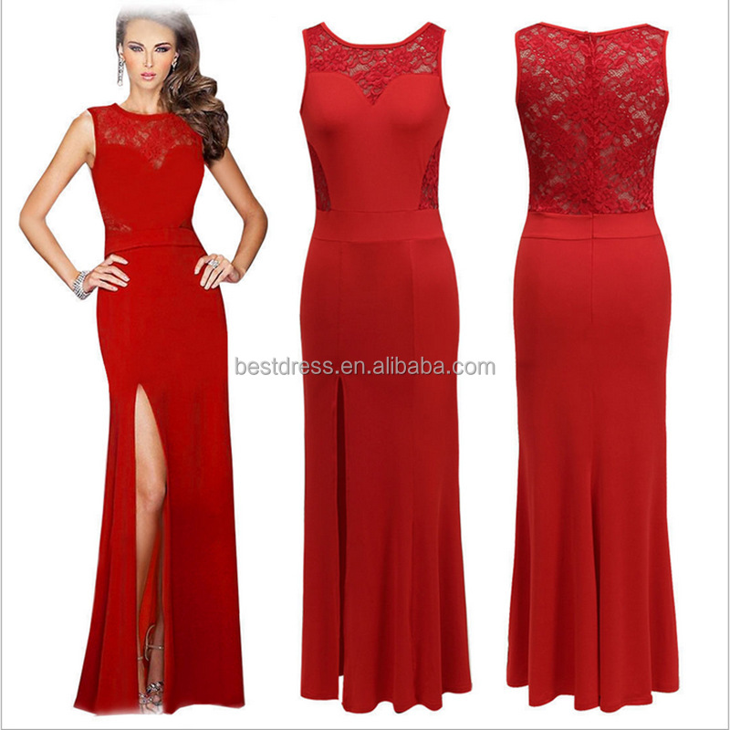 2015 New Formal Long Evening Ball Gown Party Prom Bridesmaid Dress