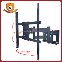 "swivel tilt articulating tv wall mount for 50""-72"" displays up to 250 lbs with VESA 850x750 mm"