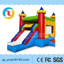 Guangzhou indoor outdoor slide combo bouncer inflatable for kids