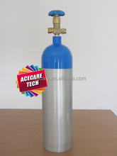 3.2L, 15mpa aluminum alloy cylinder, oxygen cylinders capacity,
