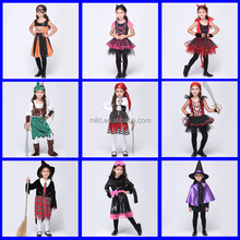 Fctory direct sale halloween style bad girl cosplay costume for children