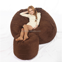 visi 5 foot foam filled bean bag chair sofa bed relax sac