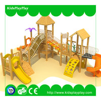 outdoor playground commercial candy theme play area soft wooden plastic