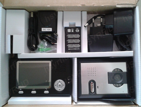 Apartment video door phone commax intercom system