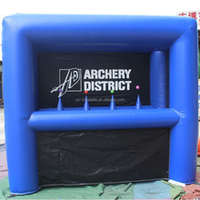 Hover ball type inflatable archery game for sale