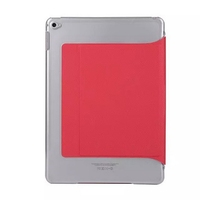 Good quality new products stand leather case for ipad 6