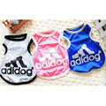 Pet Dog Summer Sport Clothes Dog Mesh Vest Pet T shirt