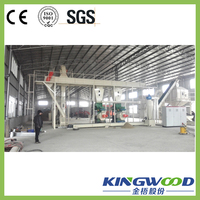 ISO:9001 Certification Professional Supplier of 4-6t/h Mini Wood Pellet Production Line