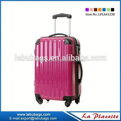 China supplier foldable hand luggage trolleys, alibaba website compass luggage trolley bag