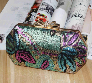 High quality evening bag leather handbags for sale