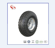 3.50-4 Amercian market Wheelbarrow Pneumatic rubber Wheel