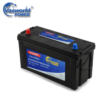 N100 12V100Ah Dry Charged Hybrid Car Battery For Sale